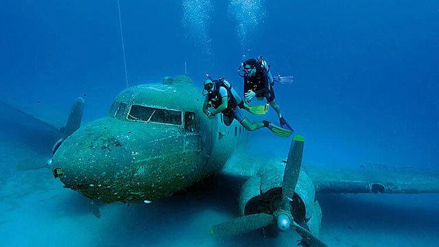 Uçak Batıkları Fotoğraf